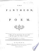 The Pantheon, a Poem