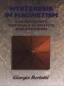 Hysteresis in Magnetism Pdf/ePub eBook