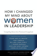 How I Changed My Mind About Women In Leadership Book PDF