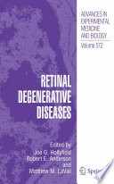 Retinal Degenerative Diseases Book PDF