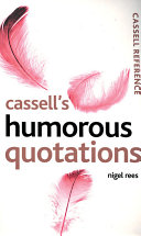 Cassell s Humorous Quotations