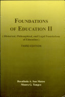 Foundation of Education II