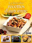 Pdf Le livre des recettes d'automne Telecharger