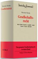 Cover image of Gesellschaftsrecht : BGB, HGB, PartGG, GmbHG, AktG, UmwG, GenG, IntGesR