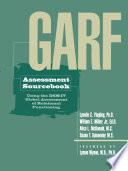 GARF Assessment Sourcebook