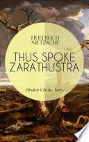 THUS SPOKE ZARATHUSTRA  Modern Classics Series  Book PDF