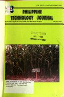 Philippine Technology Journal