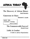 Pdf Africa Today