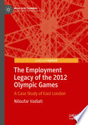 The Employment Legacy of the 2012 Olympic Games Book