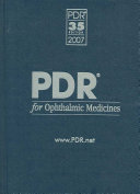 Pdr For Ophthalmic Medicines Book PDF