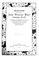 James Whitcomb Riley's Complete Works
