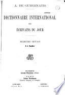 Dictionnaire international des écrivains du jour Pdf/ePub eBook