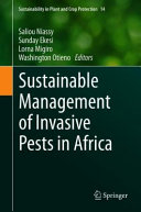 Sustainable Management of Invasive Pests in Africa Book