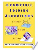 Geometric Folding Algorithms Book