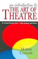 An Introduction To  the Art of Theatre Book