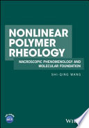 Nonlinear Polymer Rheology Book
