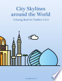 City Skylines around the World Coloring Book for Toddlers 5   6