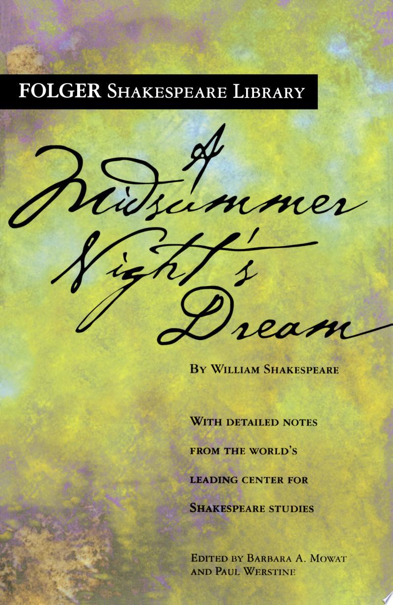 A Midsummer Night's Dream banner backdrop