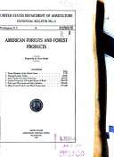 American Forests and Forest Products
