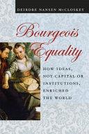 Bourgeois Equality PDF