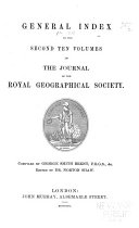 The Journal of the Royal Geographic Society of London