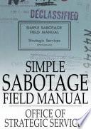 Read Online Simple Sabotage Field Manual Epub