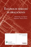 Estudios de derecho de obligaciones