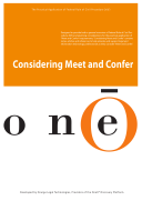 Considering Meet and Confer