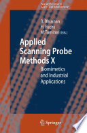 Applied Scanning Probe Methods X Book PDF