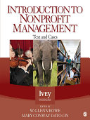 Introduction to Nonprofit Management