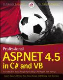 Professional ASP.NET 4.5 in C# and VB Pdf/ePub eBook