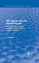 The Apple and the Spectroscope (Routledge Revivals)
