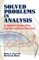 Solved Problems in Analysis