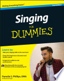 """""""Singing For Dummies"""" by Pamelia S. Phillips"""