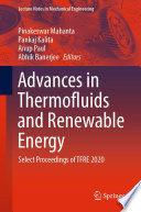Advances in Thermofluids and Renewable Energy Book