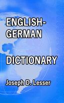 English / German Dictionary Pdf/ePub eBook