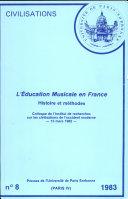 L'education Musicale en France