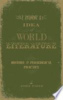 The Idea Of World Literature