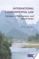 International Environmental Law Book