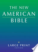 Large Print Bible-Nab