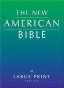 Large Print Bible-Nab