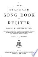 New Standard Song Book And Reciter Compiled By J Diprose Book PDF