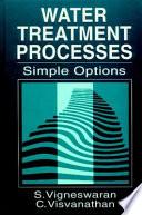 Water Treatment Processes Book PDF