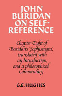John Buridan on Self Reference