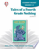 Tales of a Fourth Grade Nothing Student Packet