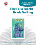 Tales of a Fourth Grade Nothing Student Packet Book