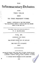 The Parliamentary Debates from the Year 1803 to the Present Time:: 23