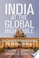 India At The Global High Table