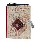 Harry Potter  Marauder s Map Invisible Ink Lock   Key Diary