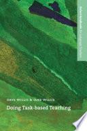Doing Task Based Teaching   Oxford Handbooks for Language Teachers